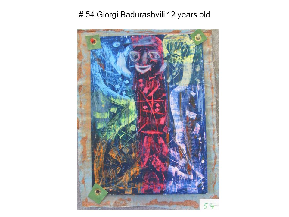 # 54 Giorgi Badurashvili 12 years old