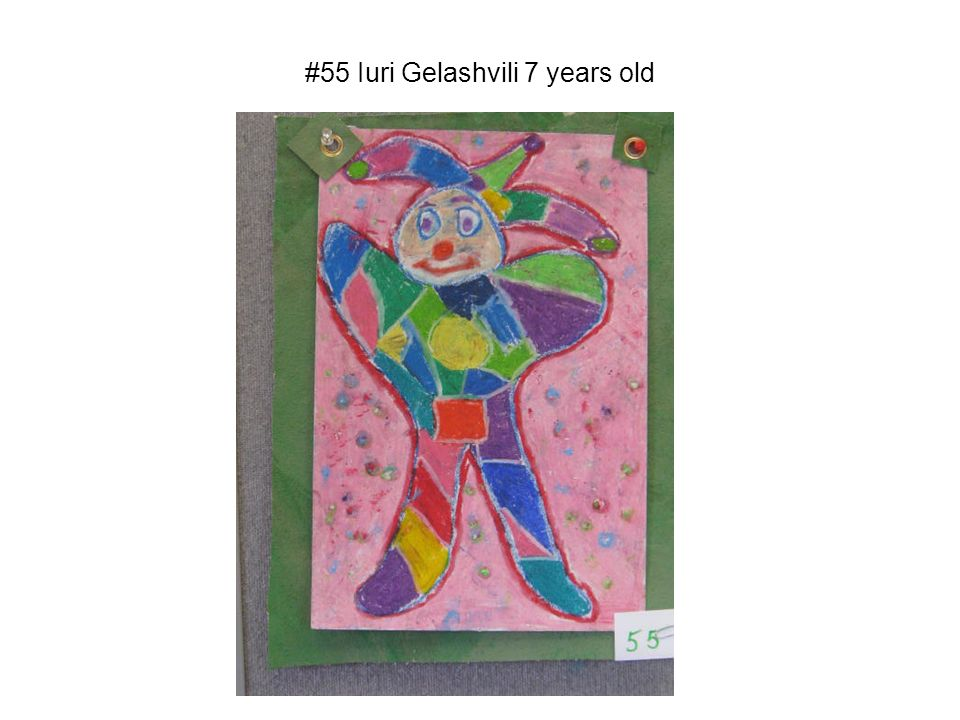 #55 Iuri Gelashvili 7 years old