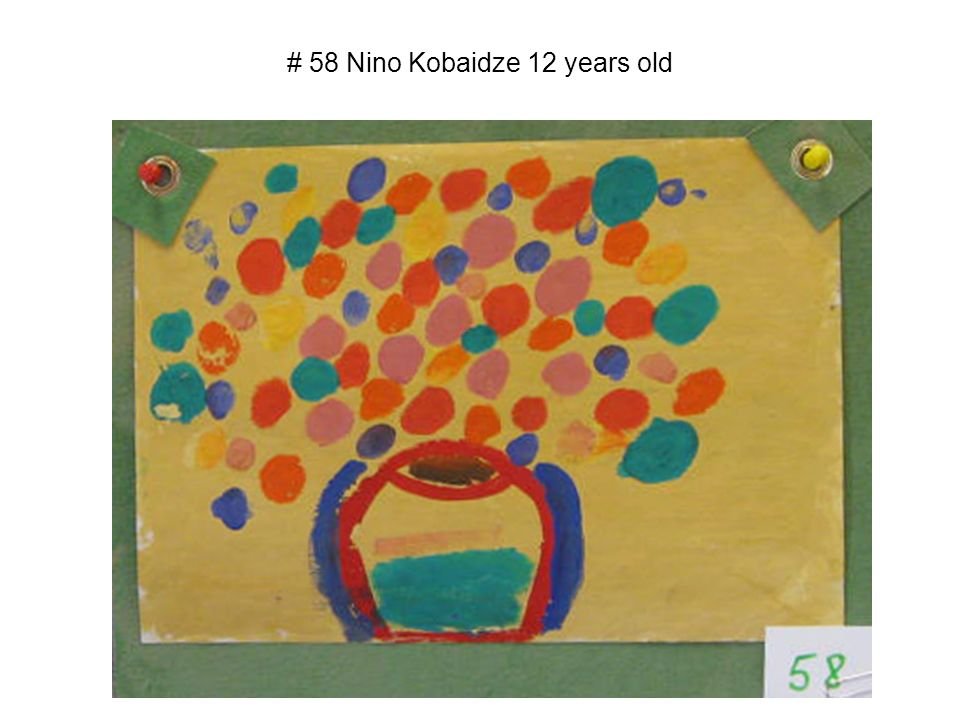 # 58 Nino Kobaidze 12 years old