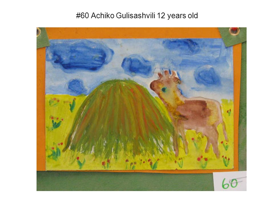 #60 Achiko Gulisashvili 12 years old
