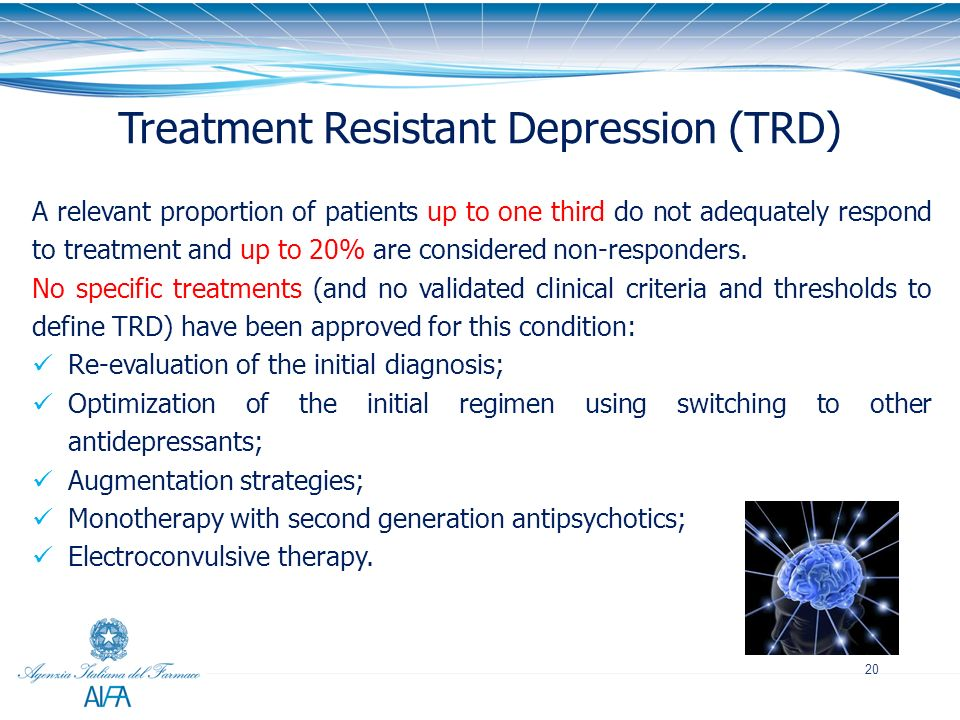 Treatment Resistant Depression (TRD)