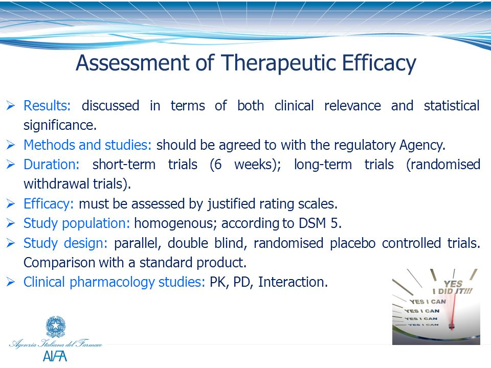 Assessment of Therapeutic Efficacy