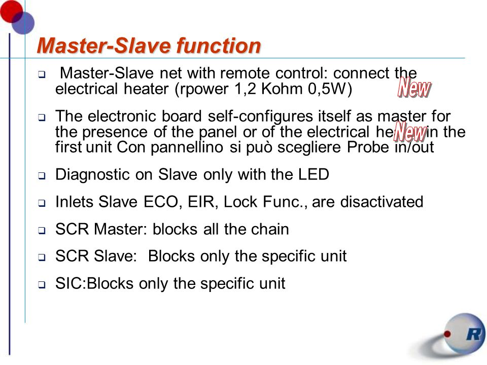 Master-Slave function