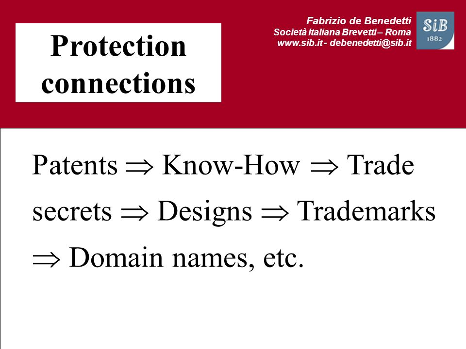 Protection connections