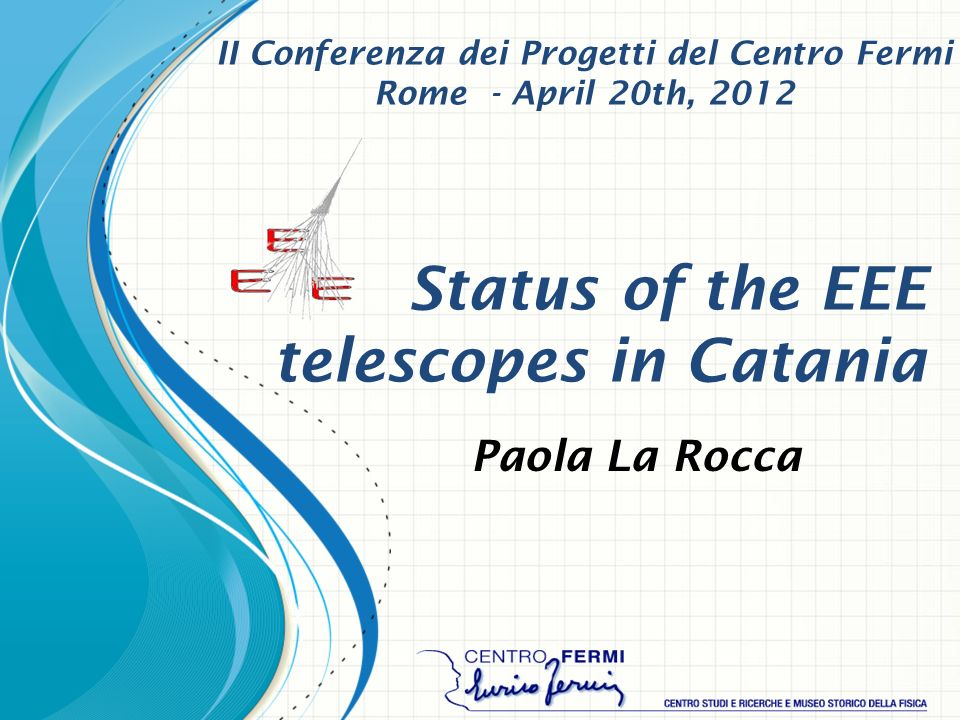 Status of the EEE telescopes in Catania