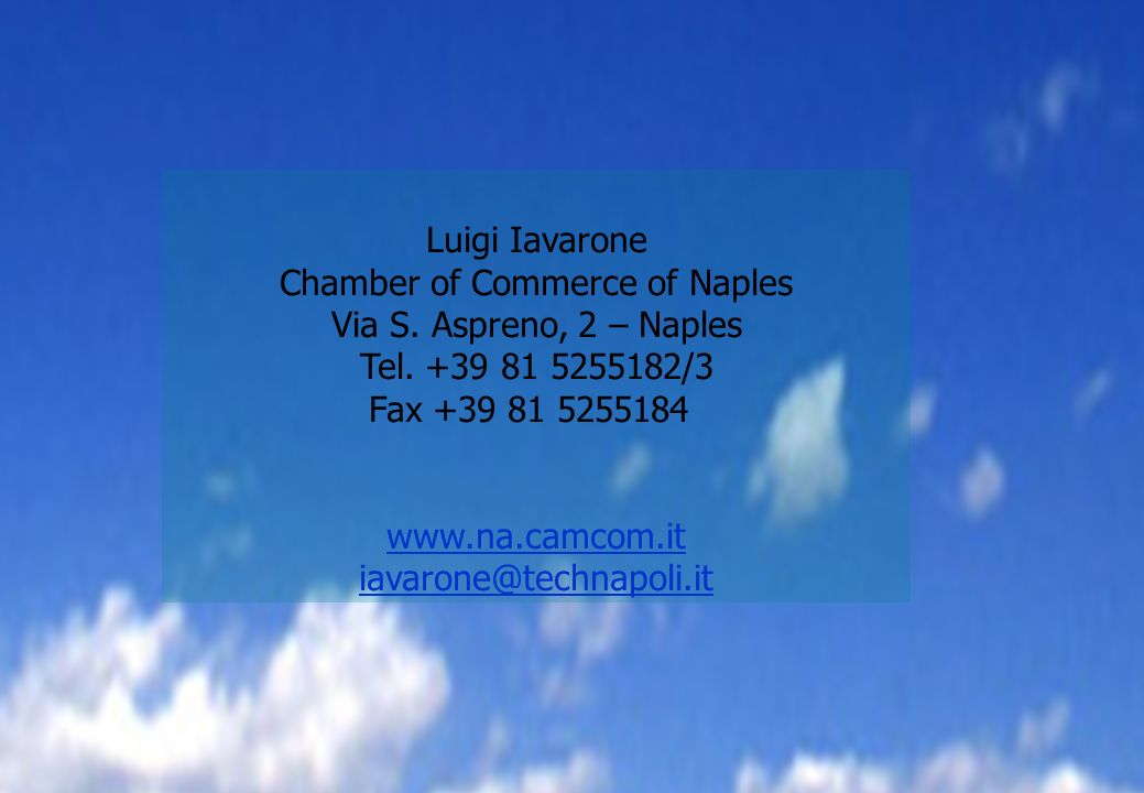 Chamber of Commerce of Naples