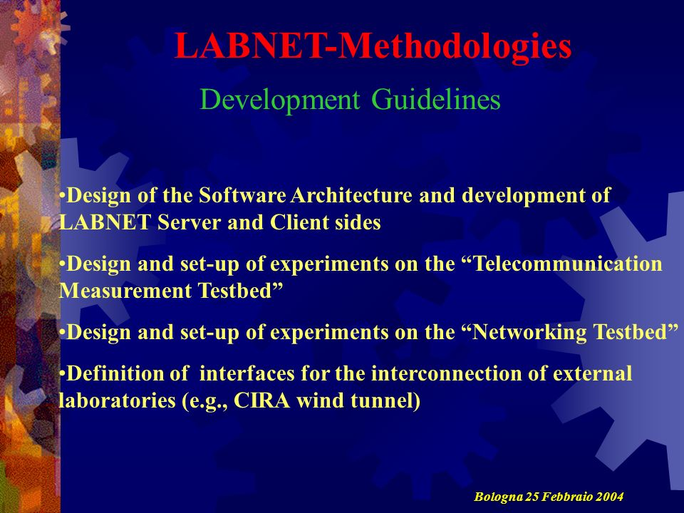 LABNET-Methodologies