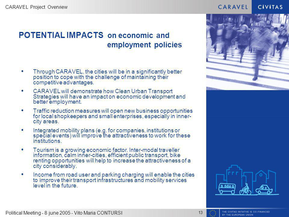 POTENTIAL IMPACTS on economic and employment policies