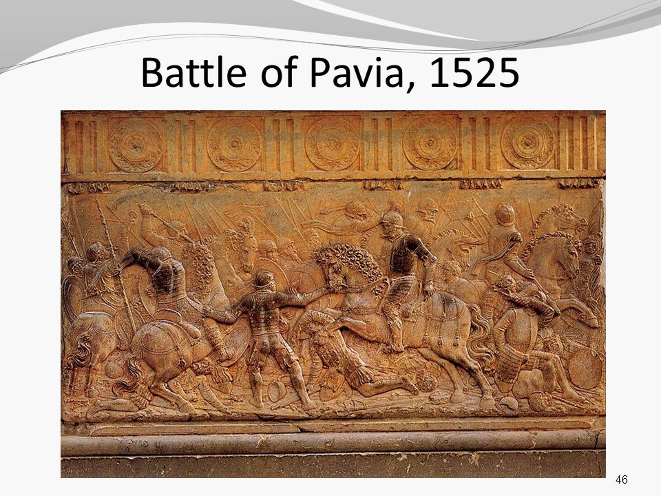 Battle of Pavia, 1525