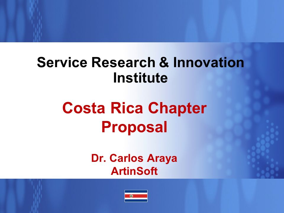 Service Research & Innovation Institute