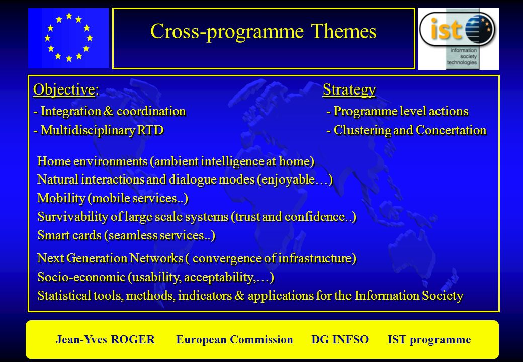 Cross-programme Themes