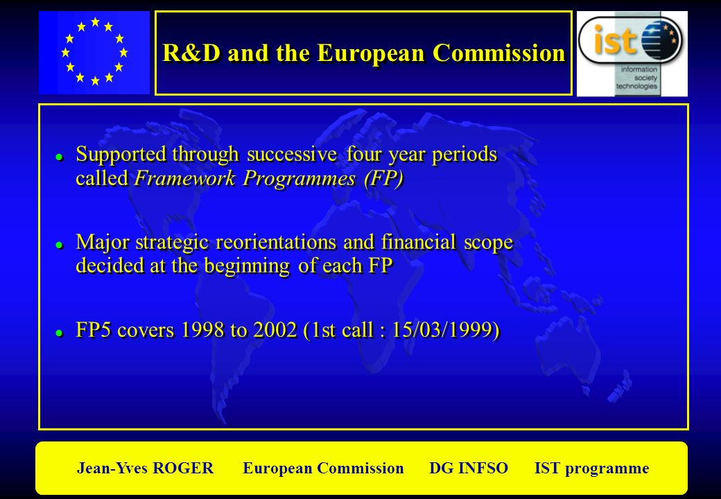 R&D and the European Commission