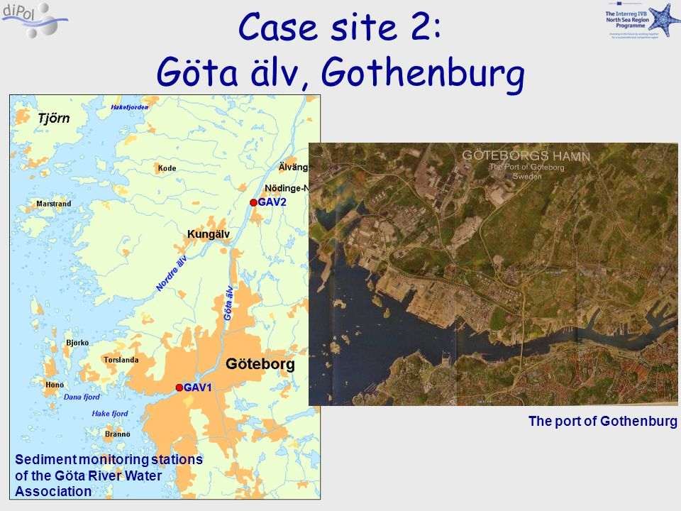 Case site 2: Göta älv, Gothenburg The port of Gothenburg