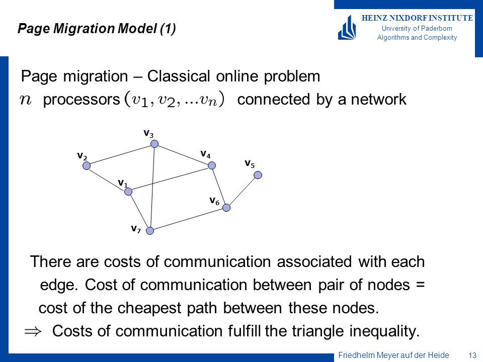 Page Migration Model (1)