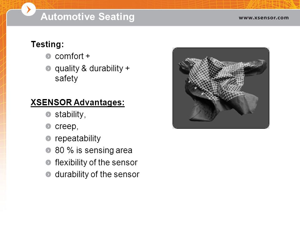 Automotive Seating Testing: comfort + quality & durability + safety