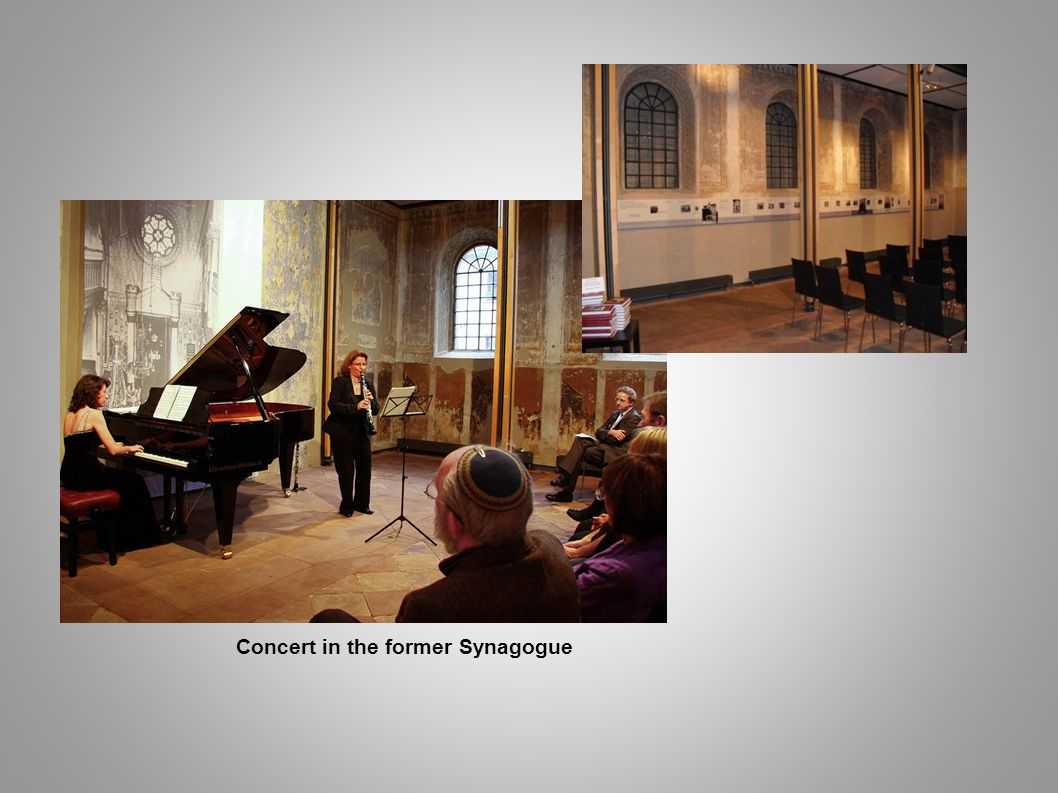 Concert in the former Synagogue