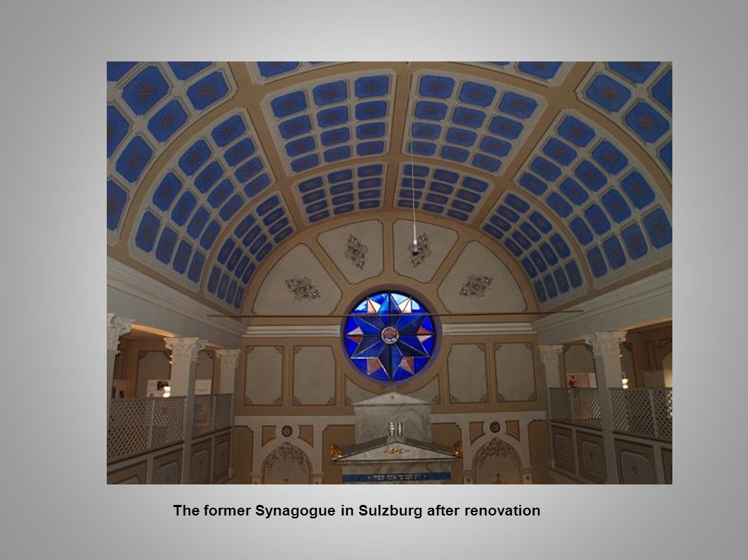 The former Synagogue in Sulzburg after renovation