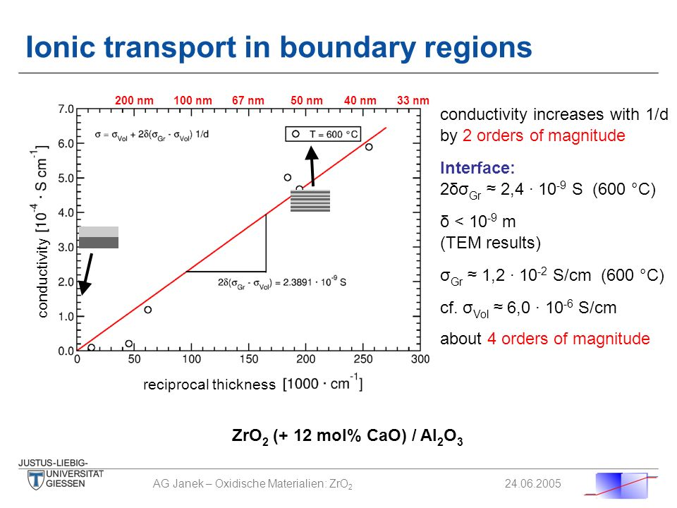 Ionic transport in boundary regions