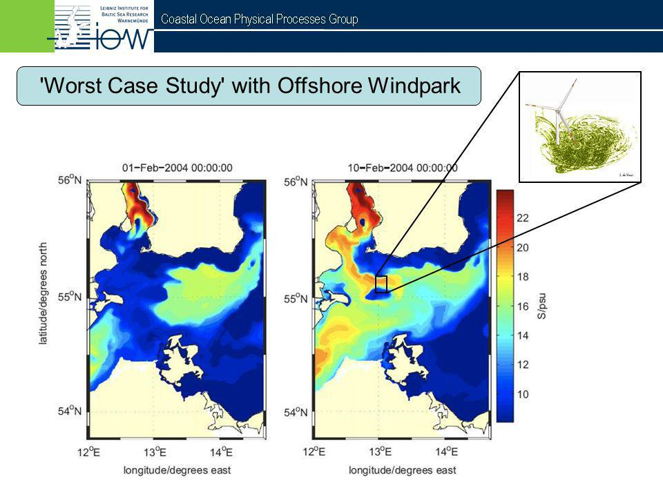 Worst Case Study with Offshore Windpark