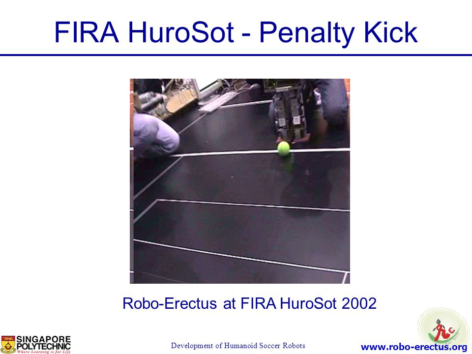 FIRA HuroSot - Penalty Kick