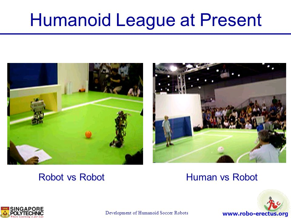 Humanoid League at Present