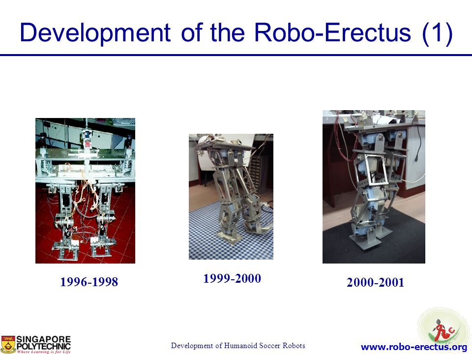 Development of the Robo-Erectus (1)