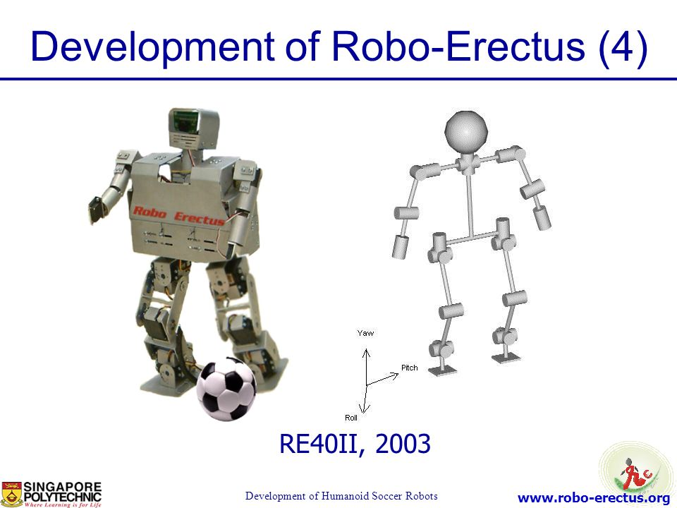 Development of Robo-Erectus (4)