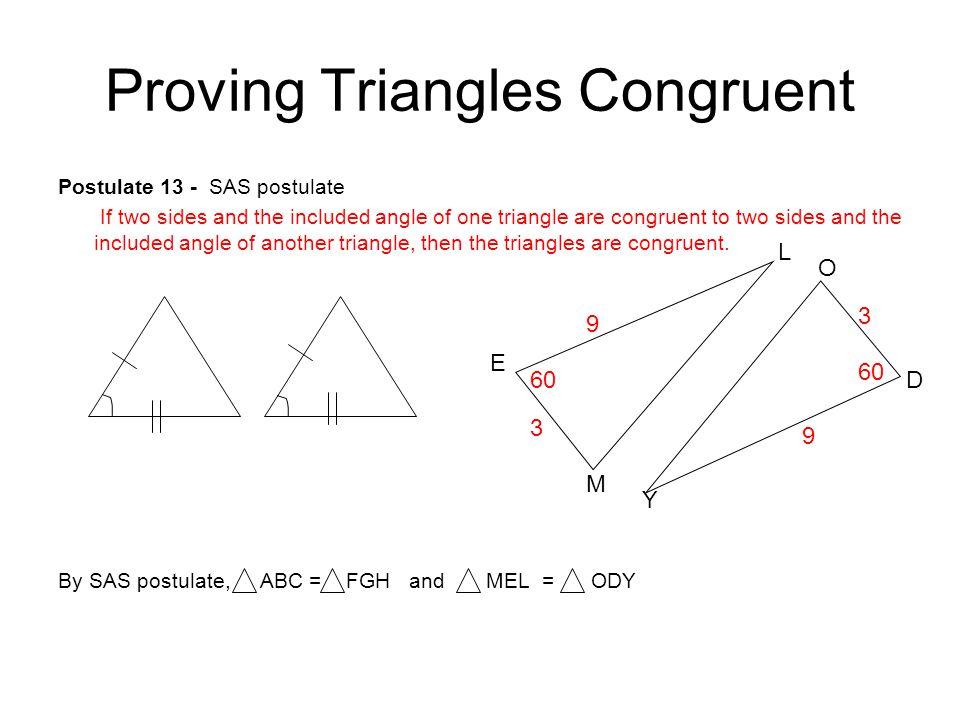 4 2 Some Ways To Prove Triangles Congruent Ppt Download