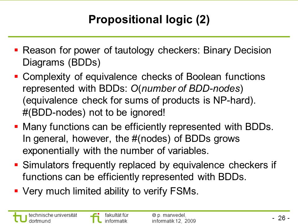 Propositional logic (2)