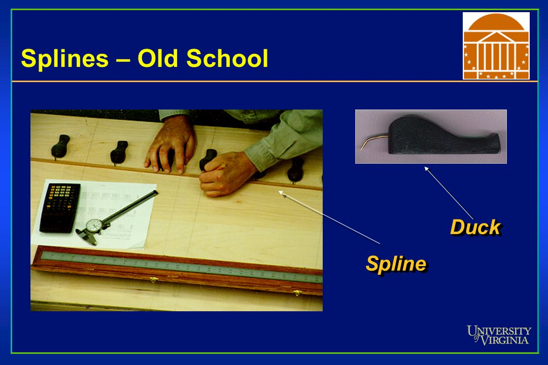 Splines – Old School Duck Spline