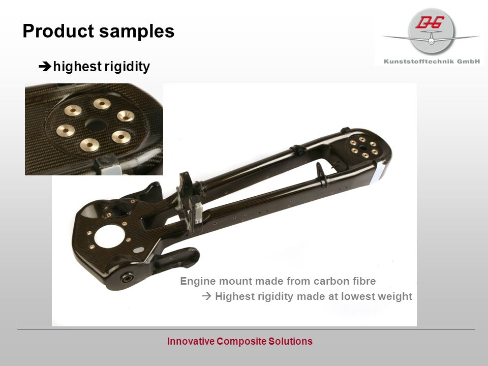 Product samples highest rigidity