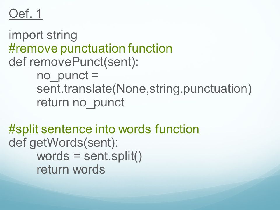 Programming for Linguists - ppt download