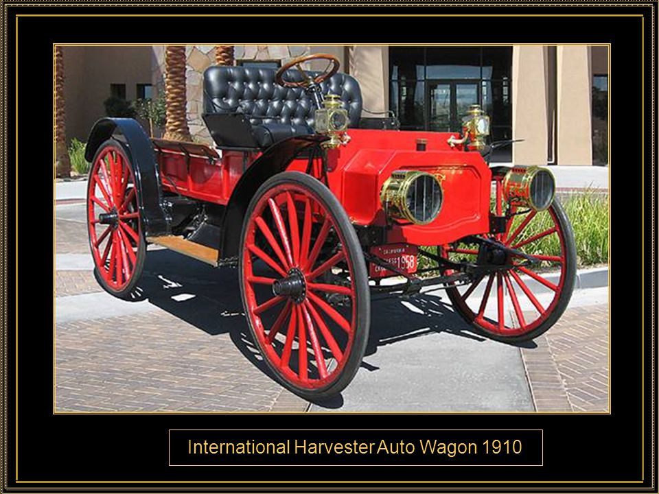International Harvester Auto Wagon 1910