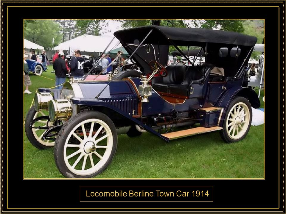 Locomobile Berline Town Car 1914