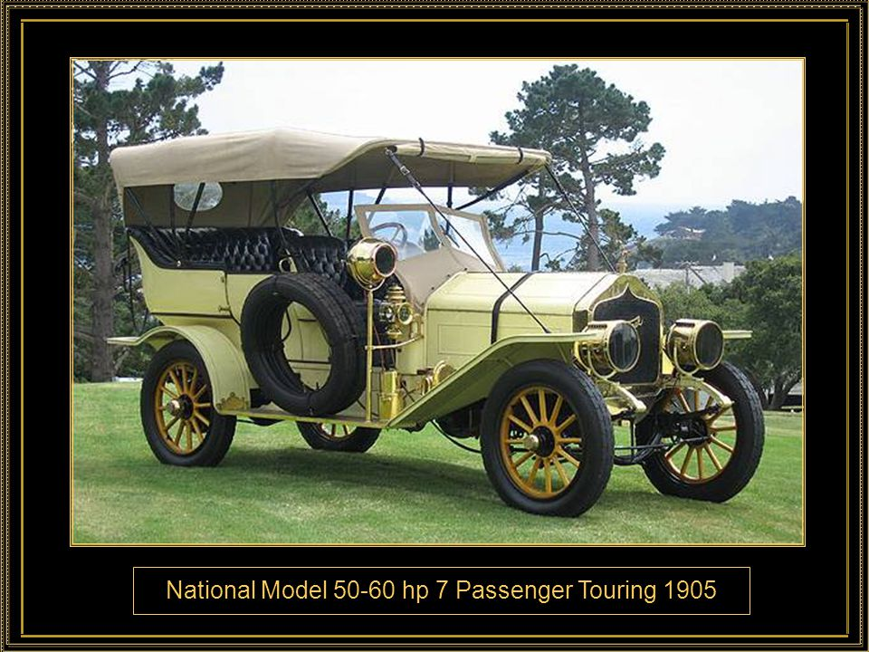 National Model hp 7 Passenger Touring 1905