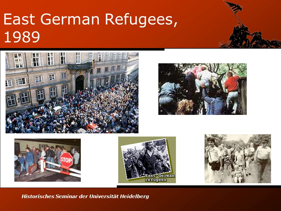 East German Refugees, 1989 Historisches Seminar der Universität Heidelberg