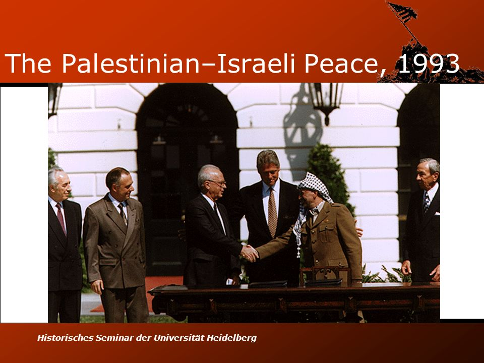 The Palestinian–Israeli Peace, 1993