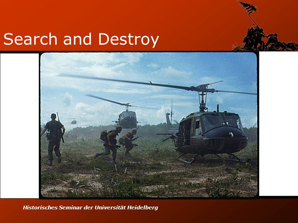 Search and Destroy Historisches Seminar der Universität Heidelberg