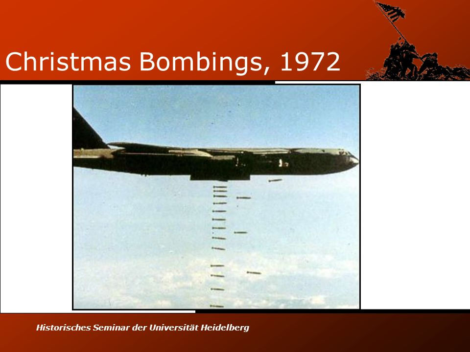 Christmas Bombings, 1972 Historisches Seminar der Universität Heidelberg