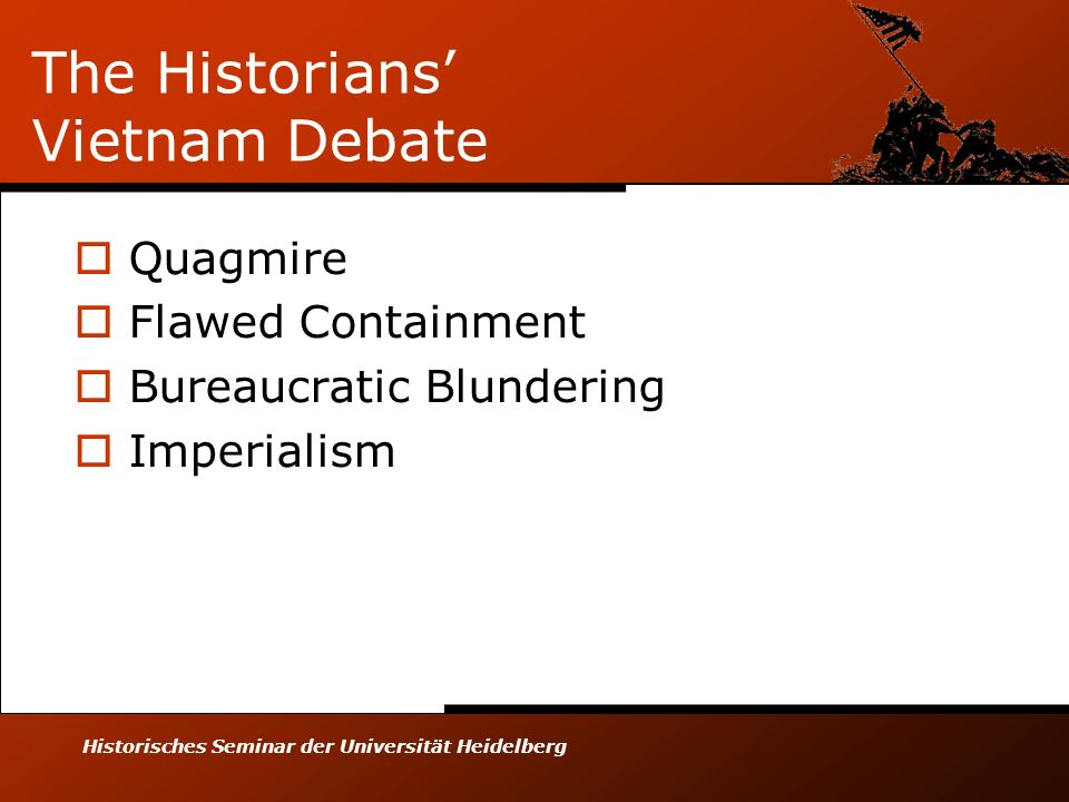 The Historians' Vietnam Debate