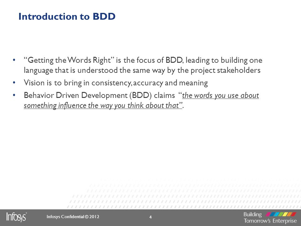 Introduction to BDD