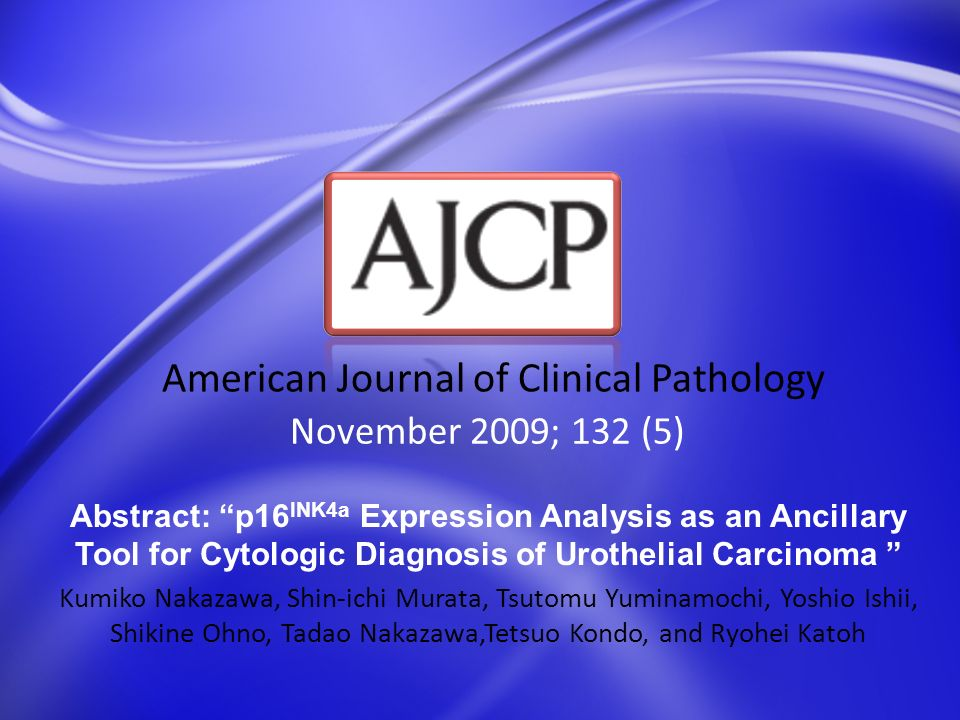 American Journal of Clinical Pathology