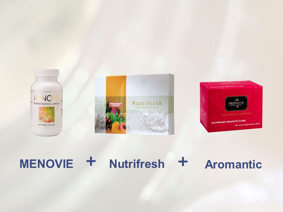 + + MENOVIE Nutrifresh Aromantic