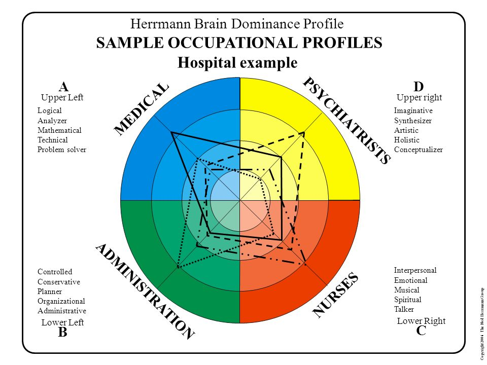 SAMPLE OCCUPATIONAL PROFILES Hospital example
