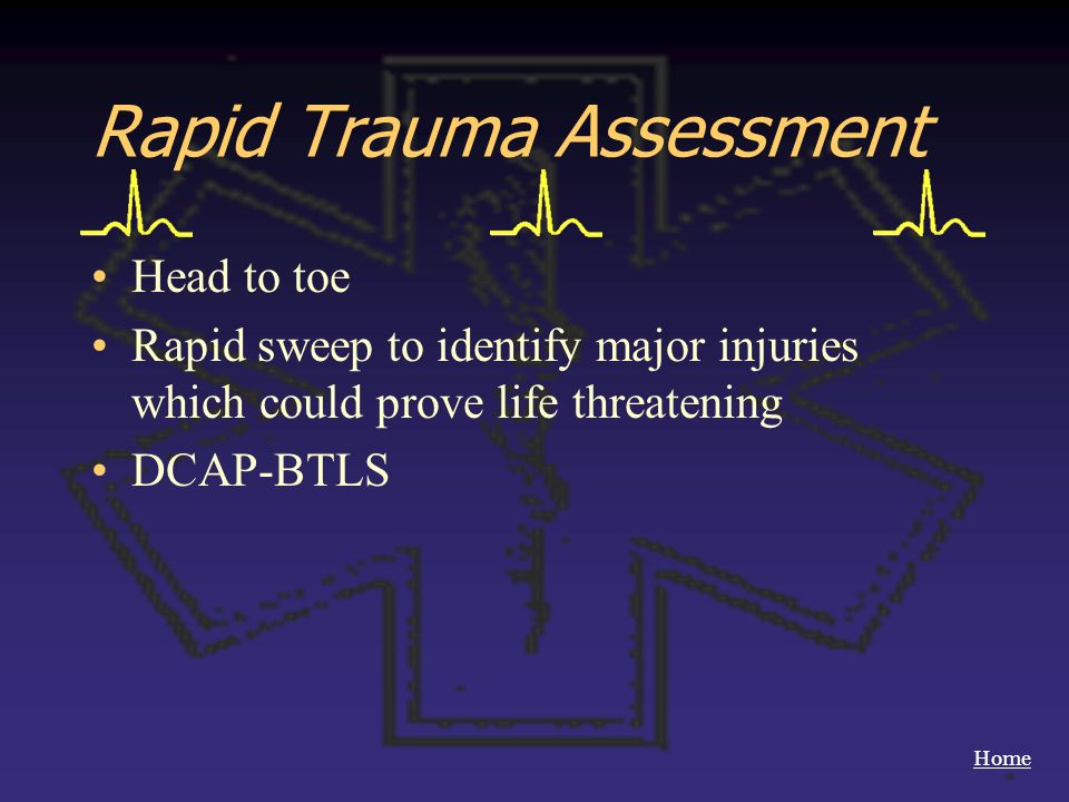 Rapid Trauma Assessment