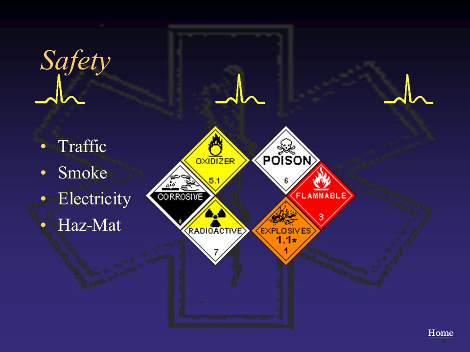Safety Traffic Smoke Electricity Haz-Mat