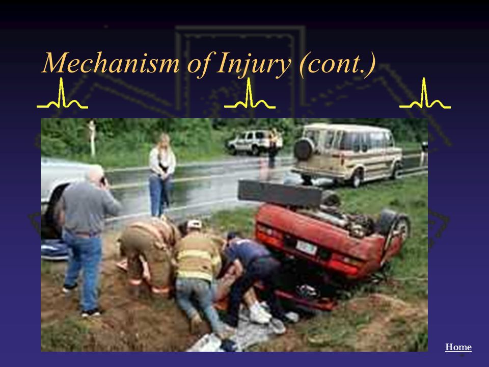 Mechanism of Injury (cont.)