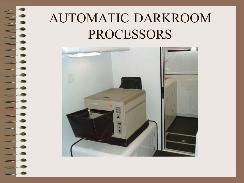AUTOMATIC DARKROOM PROCESSORS
