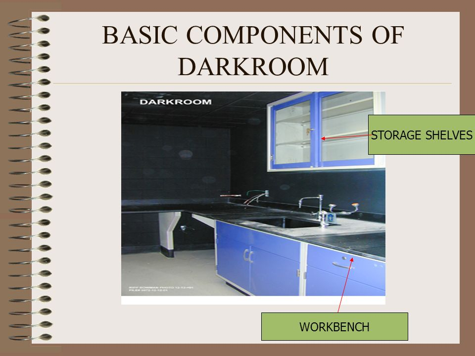 BASIC COMPONENTS OF DARKROOM
