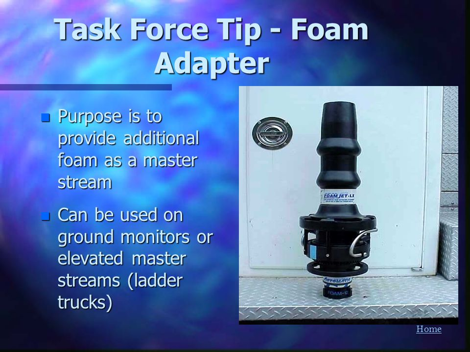Task Force Tip - Foam Adapter